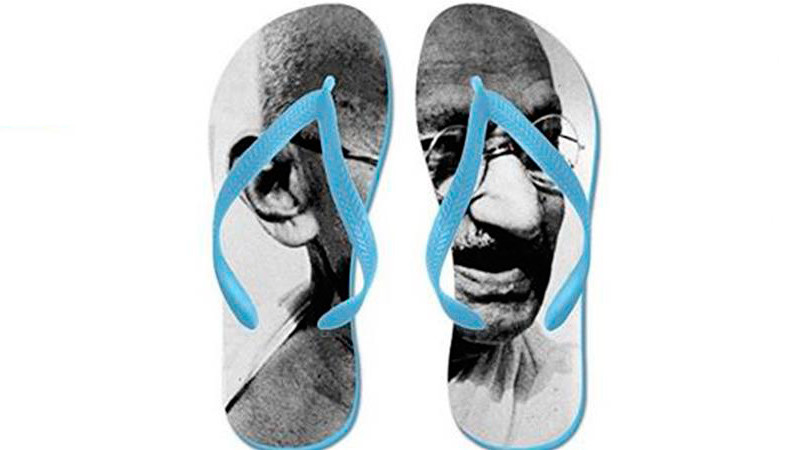 Amazon forced to remove Gandhi flip flops after public outcry in India