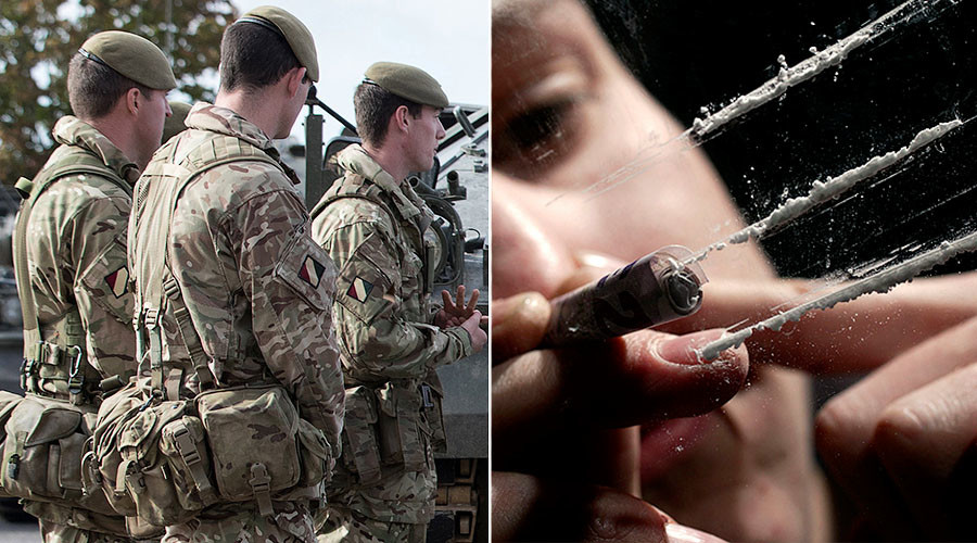 Line of duty: Drug abuse in the British Armed Forces on the rise