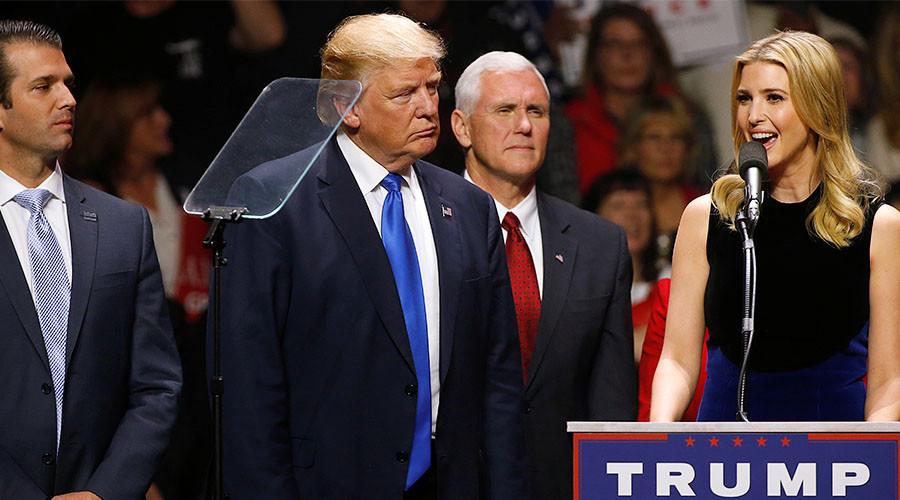 Trump Twitter blunder as he praises wrong Ivanka in Brighton