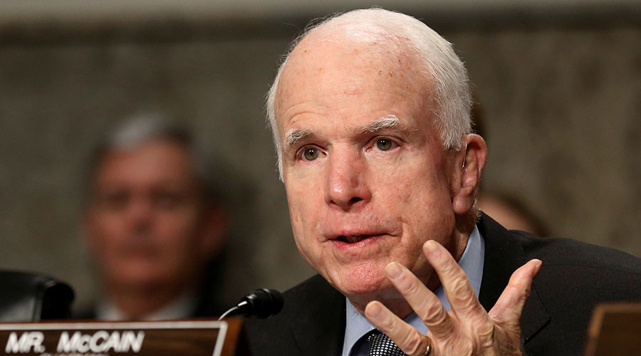 Leak of report on Trump's alleged ties with Kremlin 'totally wrong' - McCain