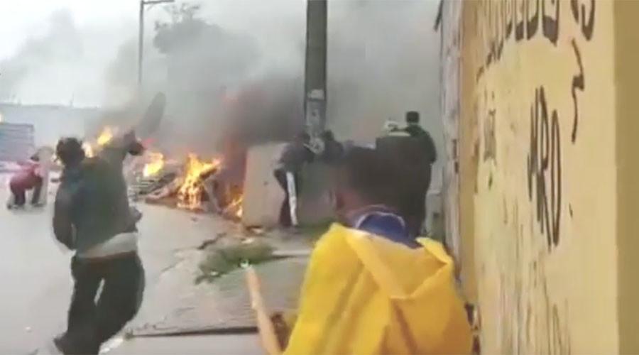Sao Paulo's streets burn as protesters hurl Molotovs at police (VIDEO)
