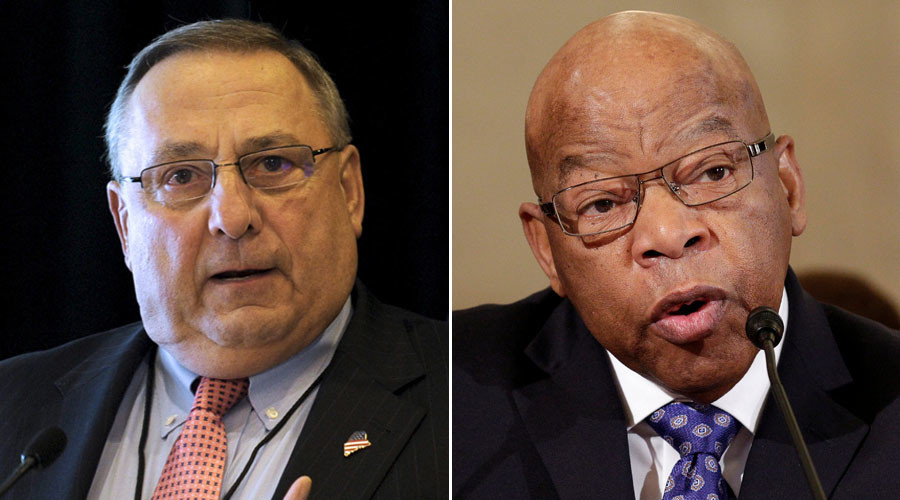 'A simple thank you would suffice': Maine Gov. LePage says John Lewis owes Abe Lincoln
