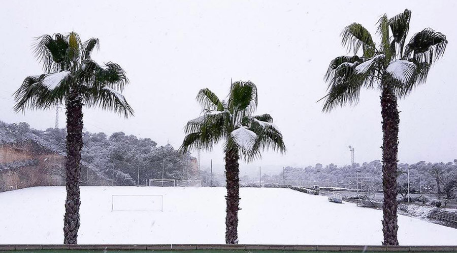 CSKA Moscow warm-weather training in Spain scuppered... by snow!