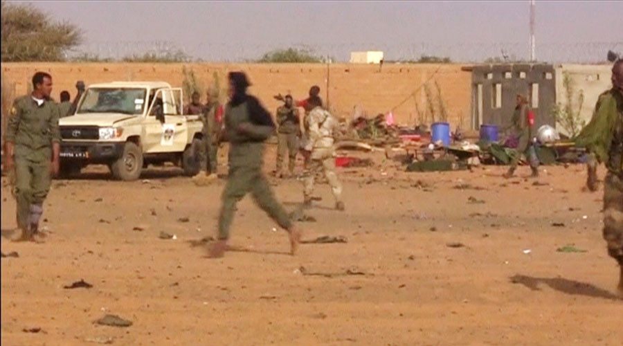 60 killed, over 100 injured in suicide attack on army base in Mali (PHOTOS)