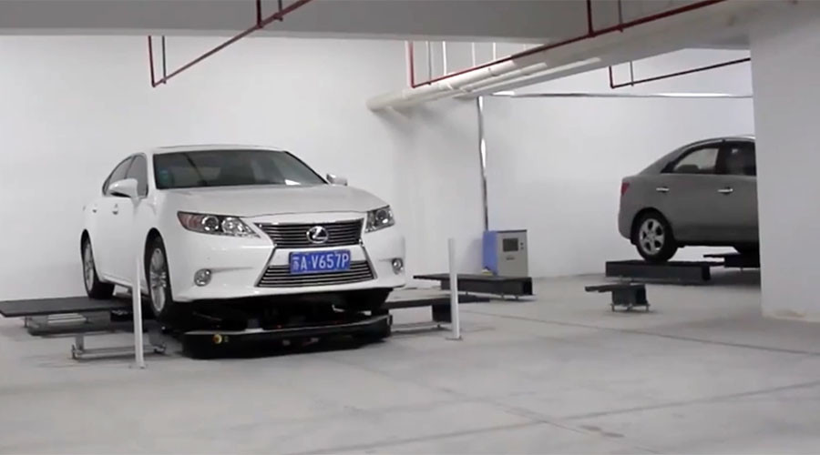 Robotic parking garage opens in China (VIDEO)