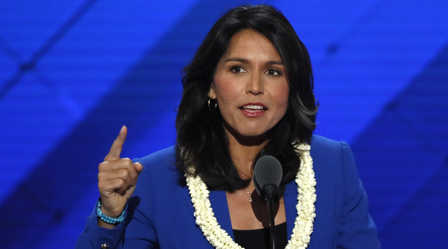 Establishment outraged as Rep. Tulsi Gabbard goes to Syria on fact-finding mission