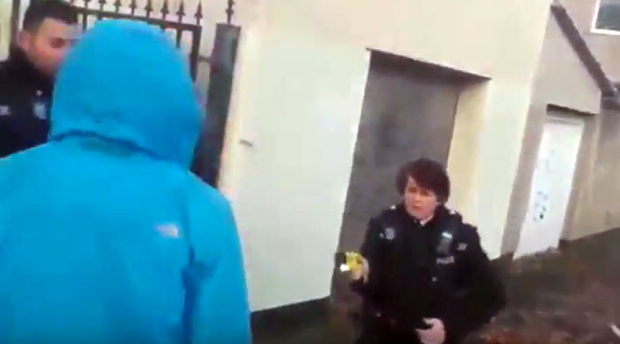 British police Taser their own race relations adviser (VIDEO)