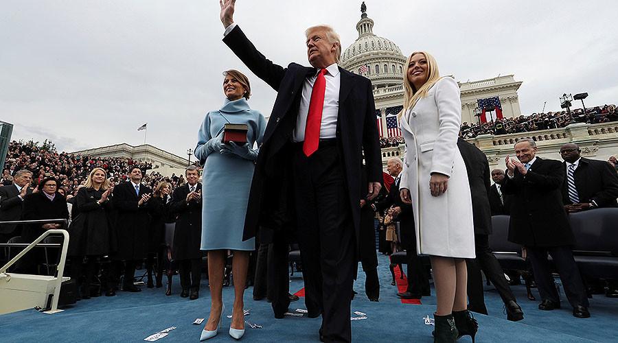 Trump's Twitter photo, presidential Batman villain 'quote' & other bizarre inauguration moments