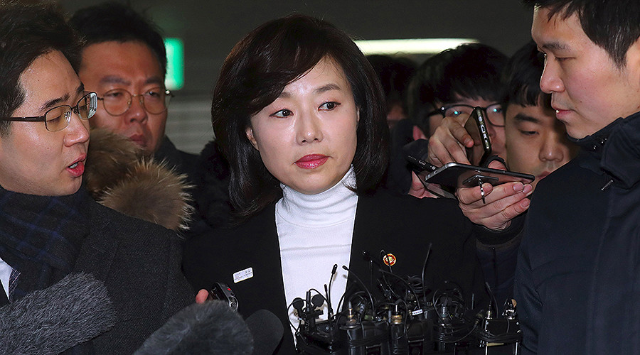 S. Korean minister arrested, accused of blacklisting cultural figures