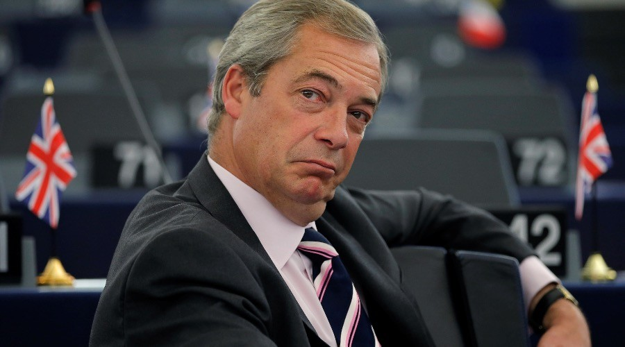 Former UKIP leader, Brexit crusader Nigel Farage hired by Fox News