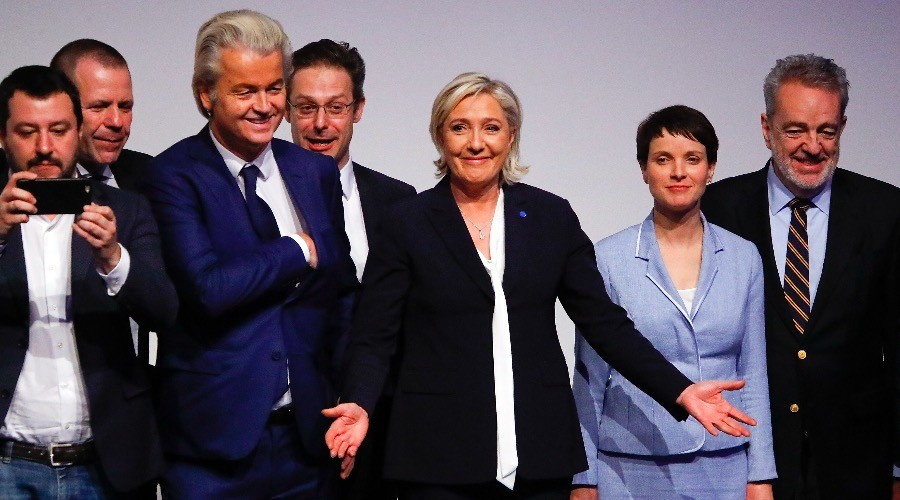 European Populists Meet To Plan 'Patriotic Spring In Europe'