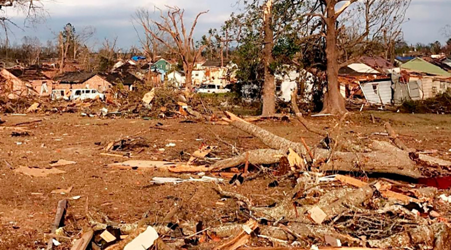 Death toll from US storms surges to 18, tornado warnings ...