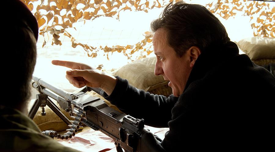 David Cameron 'names birds after Boris Johnson & shoots them'