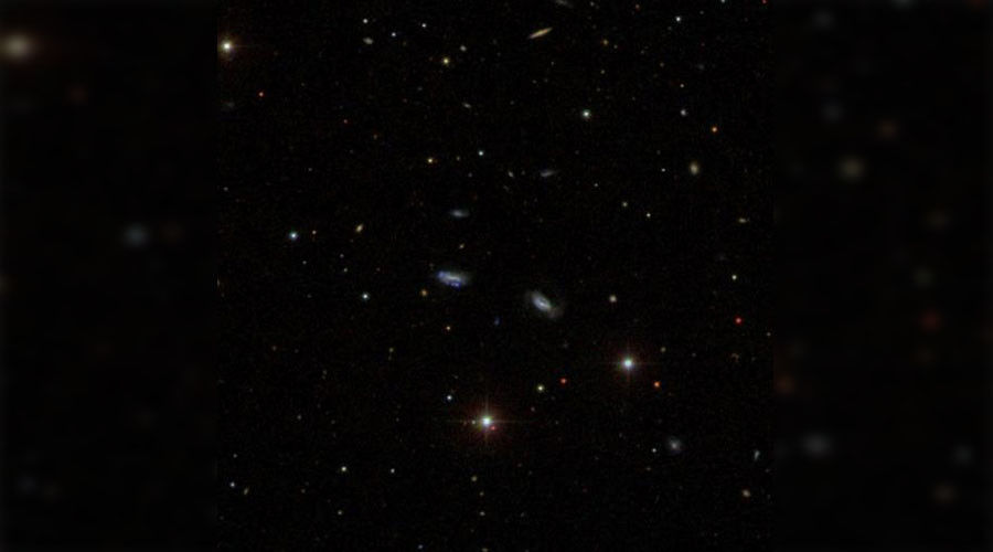 Astronomers find merging dwarf galaxies to back collision-forming theory