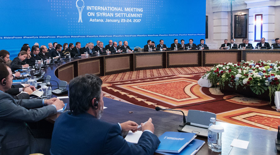 Astana meeting on Syria 'hopefully good basis for Geneva talks' - Putin