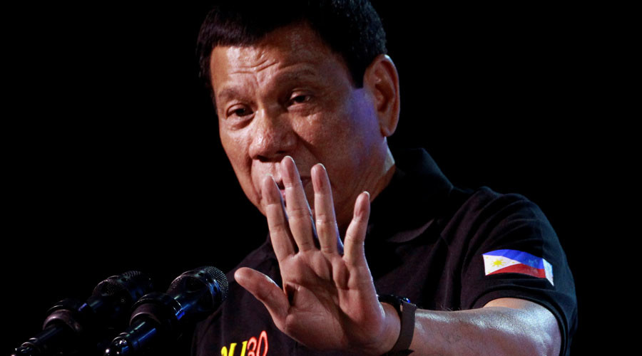 Duterte vows to ban online gambling in Philippines