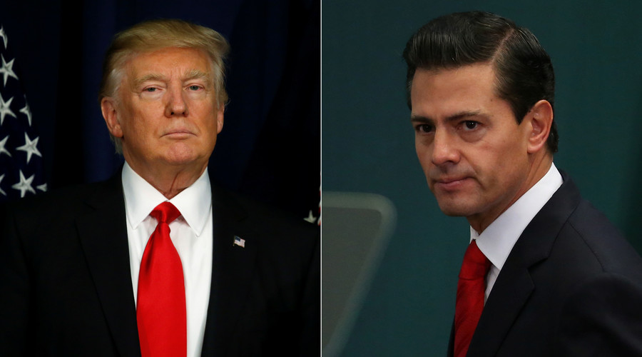 Trump threatens to cancel President Pena Nieto meetings if Mexico refuses to pay for wall