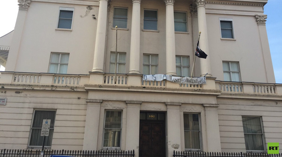 ANAL squatters group claims millionaire's London mansion for homeless & prostitutes