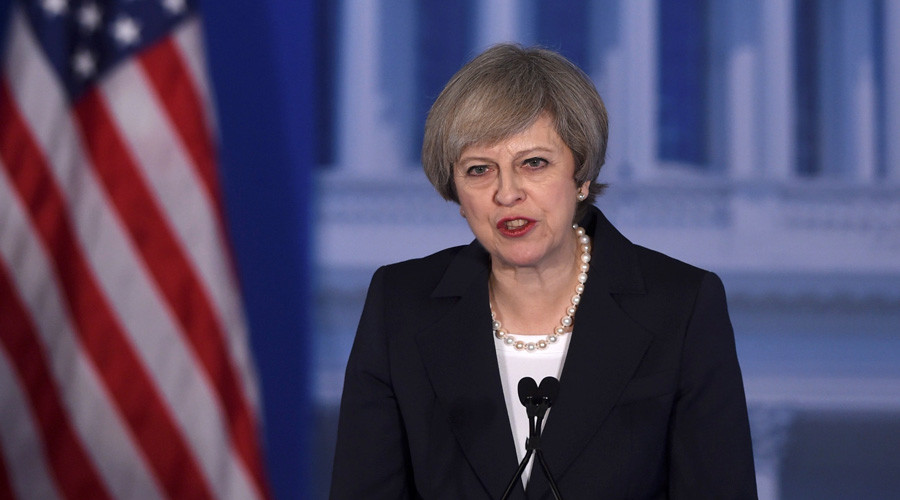'Theresa May seeks anti-Moscow NATO from Trump, but that's not in the cards'