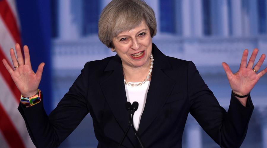 Russia's London embassy trolls Theresa May over 'beware Putin' remarks