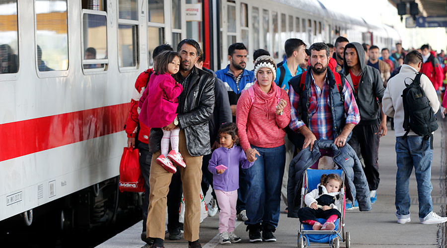 German finance minister admits govt's refugee policy 'went off course' in 2015