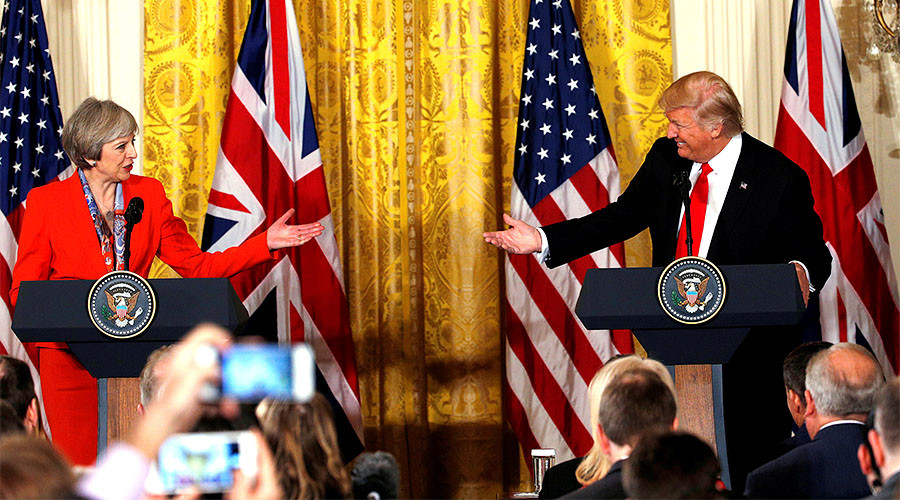 UK govt rejects 1.1mn-strong petition to cancel Trump state visit