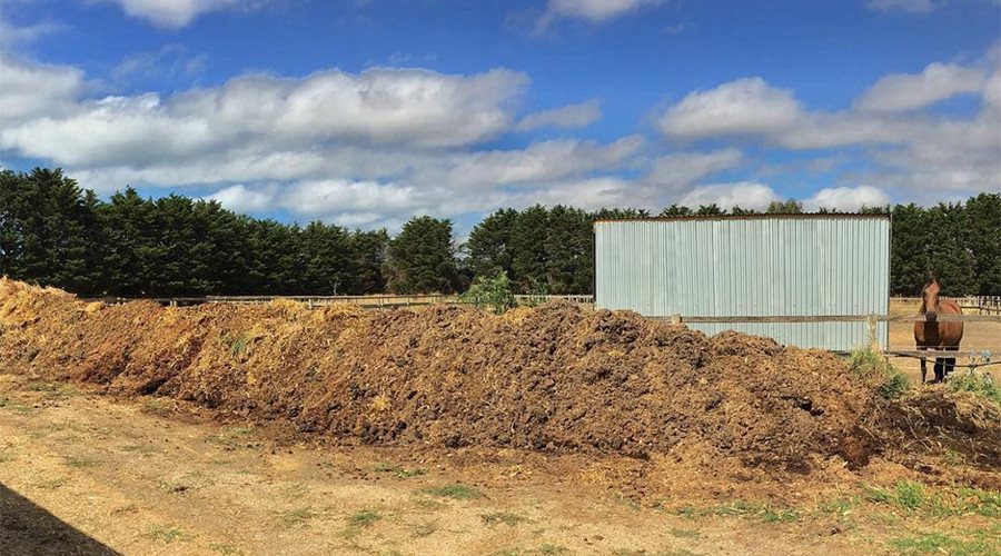 Court rules over pile of manure so massive it could be seen from space