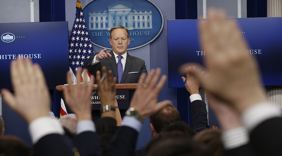 'Put it into perspective': Sean Spicer's 9 spiciest quotes on Trump's recent actions