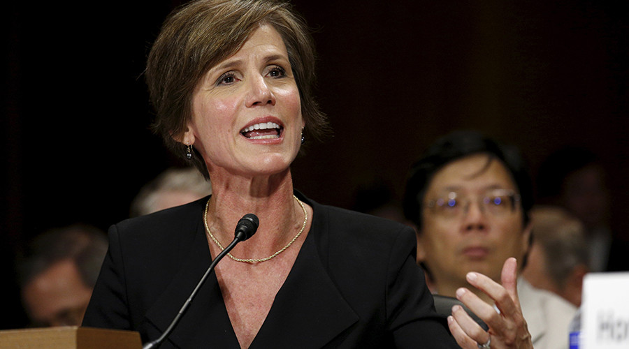 Acting AG tells DOJ lawyers not to defend Trump travel ban order