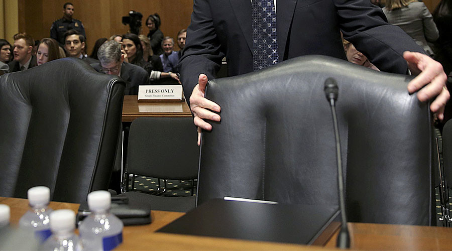 Democrats boycott committee votes for Health & Treasury secretaries