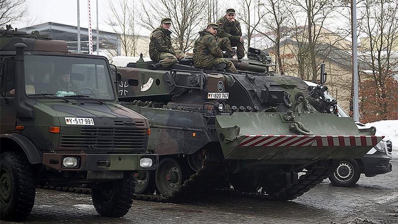 Germany begins tank deployment to Lithuania as part of NATO commitment to Baltics