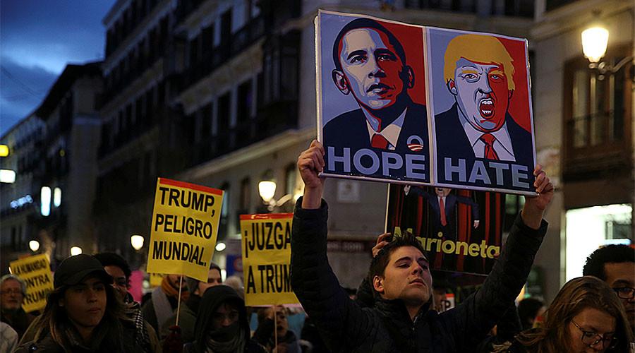 Madrid mayor hints at Trump-Hitler parallels