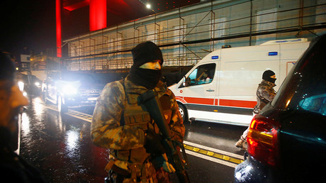 Police operation in Istanbul, Turkey, after deadly attack on nightclub
