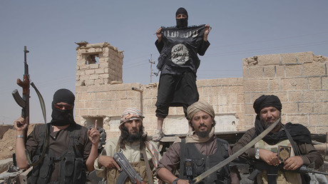 Islamic state fighters. © Medyan Dairieh / ZUMAPRESS.com / Global Look Press