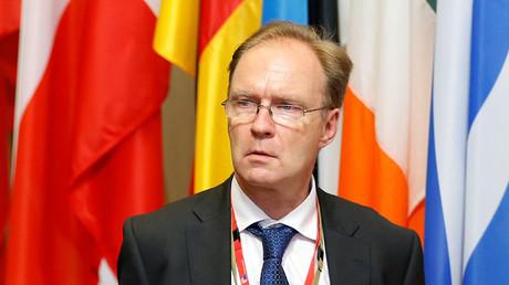 Former Britain's ambassador to the European Union Ivan Rogers. ©Francois Lenoir