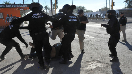 Mexicans protest government-enforced gas price hike