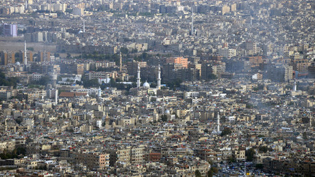 A view of Damascus from Mount Qasioun. © Mikhail Voskresenskiy