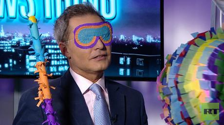 A Nigel Farage Piñata