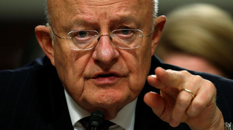 Director of National Intelligence James Clapper © Kevin Lamarque