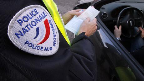 French border police © Eric Gaillard