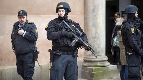 Danish police stand guard in Copenhagen, Denmark, file photo. © Emil Hougaard / Scanpix Denmark