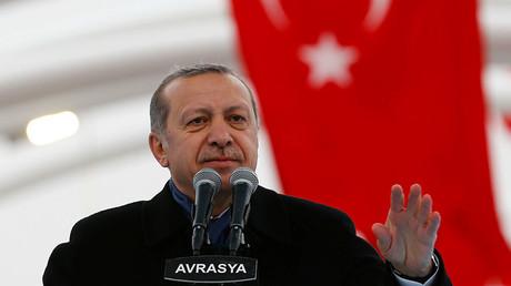 Turkish President Recep Tayyip Erdogan © Murad Sezer