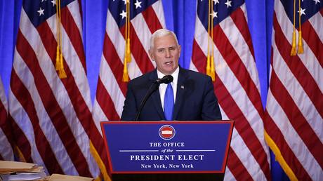 Vice President-elect Mike Pence © Lucas Jackson
