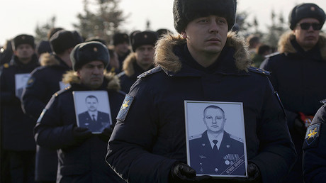Russia lays to rest victims of Tu-154 plane crash that devastated Alexandrov army choir (VIDEO)