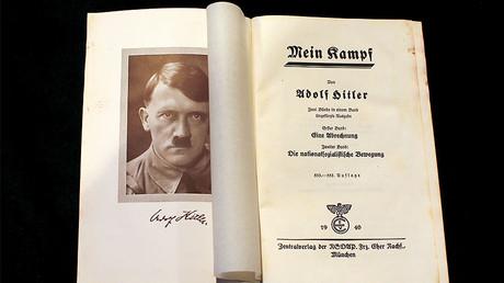 A copy of Adolf Hitler's book