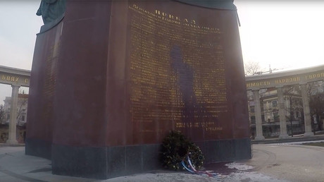 Monument honoring WWII Soviet era soldiers desecrated in Vienna, again  (PHOTOS, VIDEO)