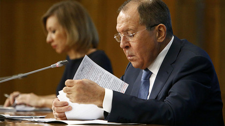 Russia thinks it's right to invite US to Syria talks in Astana, Lavrov says