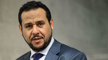 Leader of the Libyan conservative Islamist al-Watan Party and former head of Tripoli Military Council, Abdelhakim Belhadj © Fabrice Coffrini