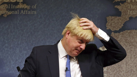 Britain's Foreign Secretary Boris Johnson © Gareth Fuller