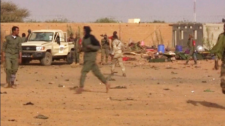 Over 40 killed in suicide attack on army base in Mali (PHOTOS)